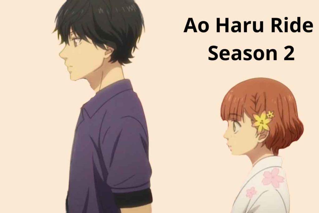 Ao Haru Ride Season 2: Release Date, Cast and Plot