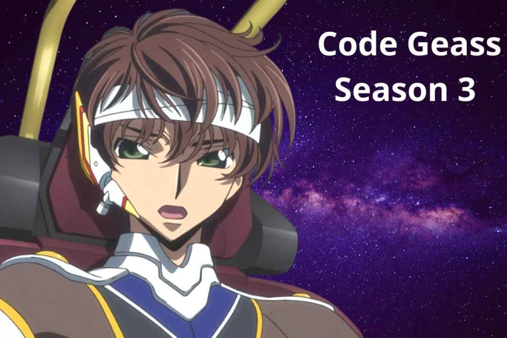 Code Geass Season 3 Release Date
