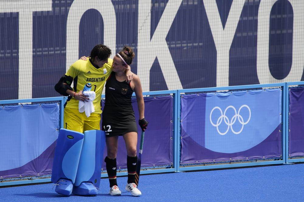 The Olympics are a lot of fun. There are lots of people who help each other.