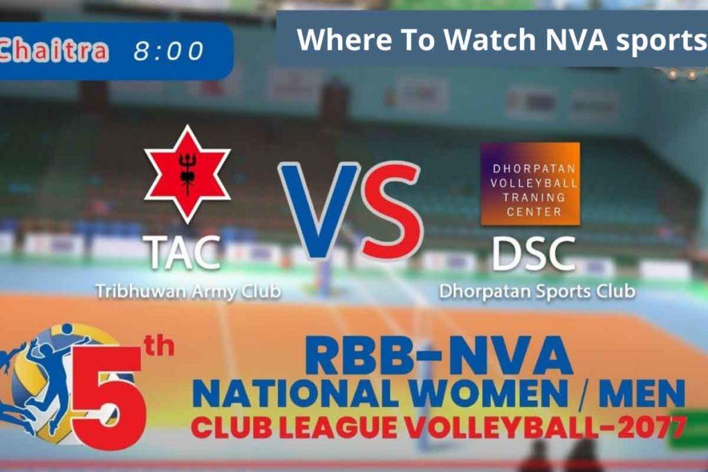 Where To Watch NVA sports
