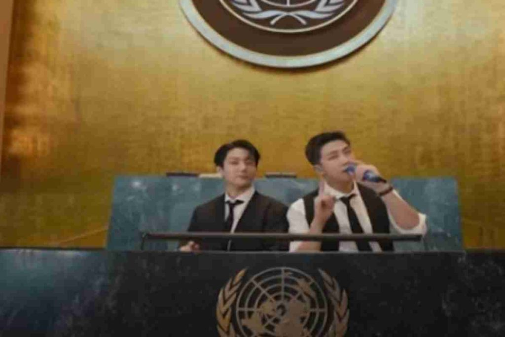 BTS Speaks At UN About Covid-19 Vaccines, #armyvaccinatedtoo Trends On Twitter