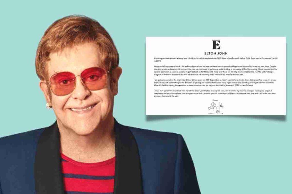 Elton John Has Postponed His Tour Dates In Europe Because He Injured His Hip (1)