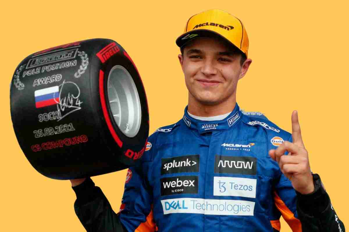 Lando Norris Takes First Pole of F1 Career at Russian Gp After Hamilton's Error
