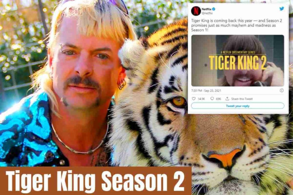 Tiger King Season 2 Is Confirmed for Release This Year as Netflix Promises' Just as Much Mayhem and Madness.' (1)