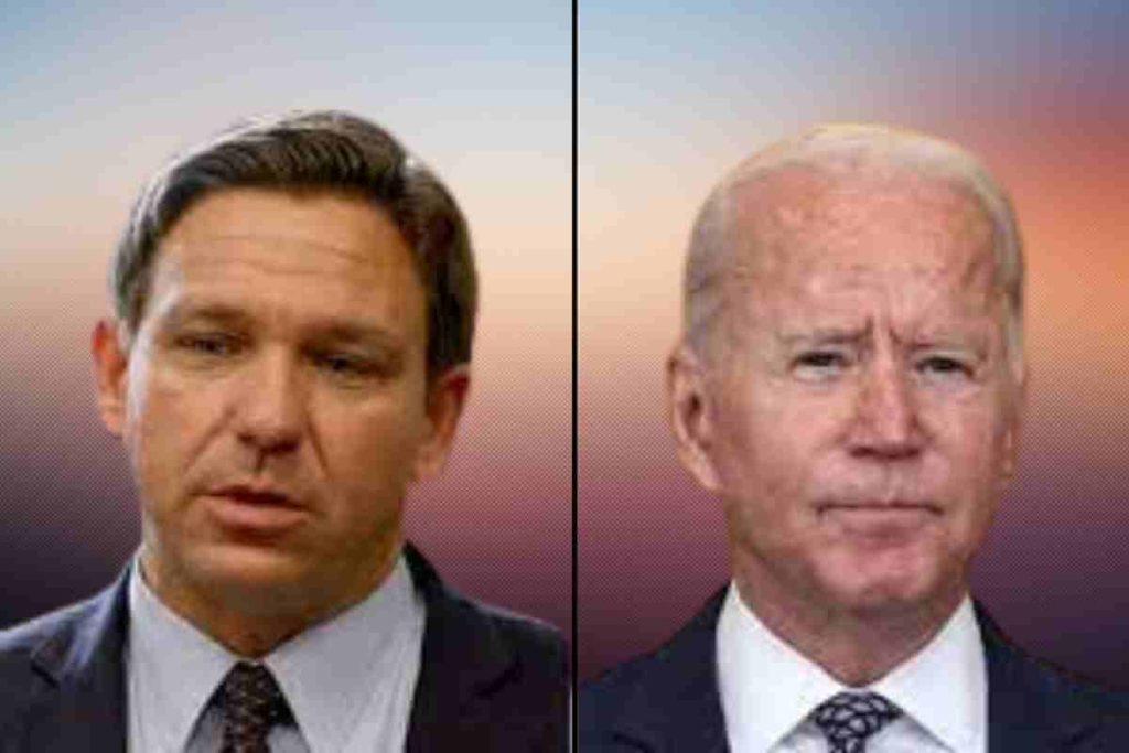 Florida Governor Ron De Santis and President Joe Biden Are Fighting Over the Covid-19