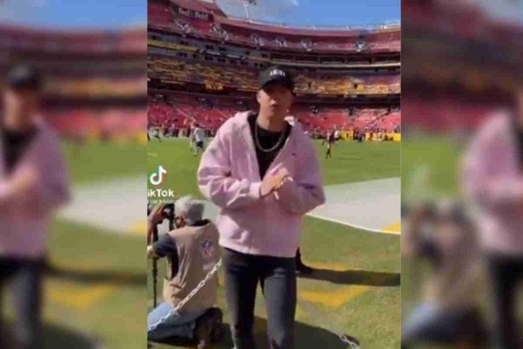 Jackson Mahomes Does TikTok Dance On Slain NFL Player's Number Tribute