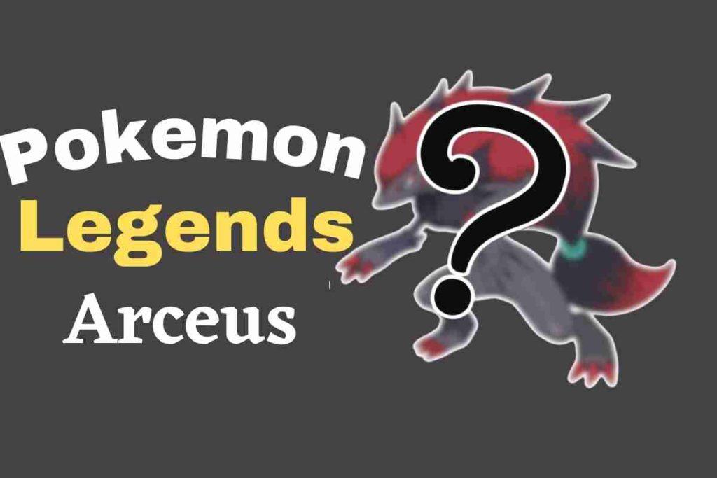 New Pokemon Teased for Pokemon Legends Arceus