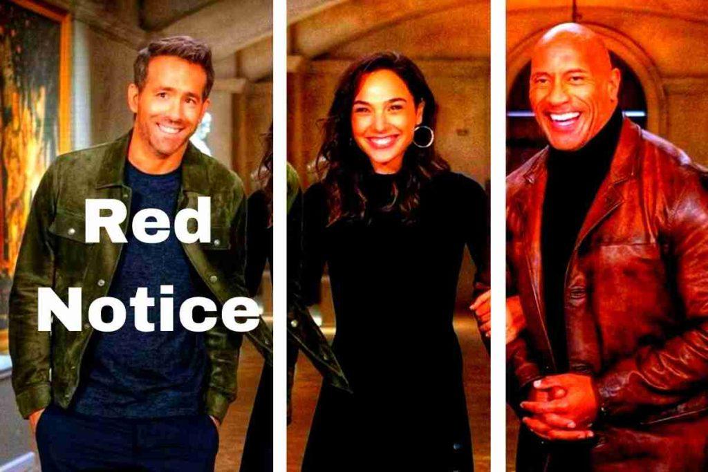 Red Notice Trailer Dwayne Johnson, Gal Gadot & Ryan Reynolds turn theft into art in a Netflix comedy