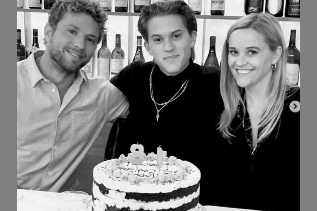 Reese Witherspoon and Ryan Phillippe reunite for Deacon's 18th birthday