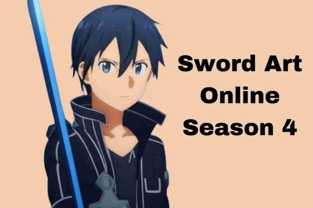 Sword Art Online Season 4 Release Date and Plot Detail
