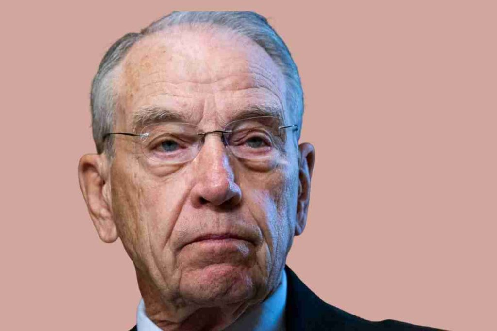 Trump Says Chuck Grassley Has His' Complete and Total Endorsement'